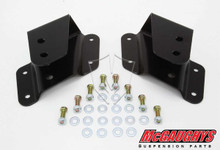 "GMC Sierra 1500 1999-2006 Rear 2"" Drop Hangers - McGaughys 33035"
