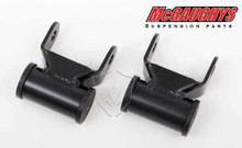"2002-2008 Dodge Ram Rear 1.5""-2"" Drop Shackles - McGaughys 44002"
