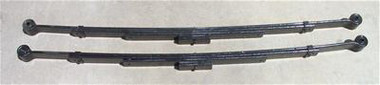 "Chevrolet Fullsize Car 1955-1957 Rear 2.5""-3"" Drop Leaf Springs (PAIR) - McGaughys 63208"