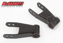 "Chevrolet C-10, 1973-1987 Rear 1""-2"" Drop Shackles - McGaughys 33131"
