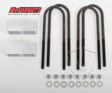 "Chevrolet Fullsize Car 1955-1957 Rear 2"" Drop Lowering Block Kit - McGaughys 33123"