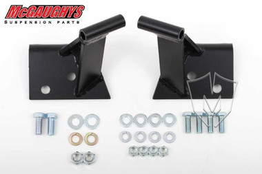 "Chevrolet Fullsize Car 1955-1957 3/4"" Forward Side Motor Mounts; Seamless Frame - McGaughys 63195"