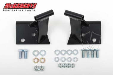 Chevrolet Fullsize Car 1955-1957 Stock Location Side Motor Mounts; Seamless Frame - McGaughys 63193