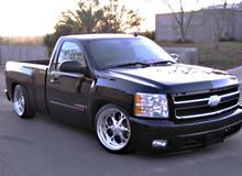 """2007-2013 Chevrolet Silverado 1500 Standard Cab 5/7"""" Deluxe Drop Kit - McGaughys 34029 Installed"""