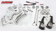 "2011-2013 GMC Sierra 3500HD 2wd Dually Gas Engine 7"" Lift Kit- McGaughys 52304"