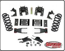 """2014-2018 Chevy Silverado 1500 2wd/4wd Crew Cab 2/4"""" or 2/5"""" Premium Drop Kit - 34150"""