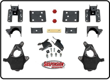 """2014-2016 Chevy Silverado 1500 Crew Cab 2/4"""" or 2/5"""" Premium Spindle Drop Kit - 34140"""