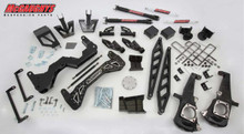 "2011-2014 Chevy Silverado 2500HD 4wd Diesel 7"" Black SS Lift Kit - McGaughys 52356 Explained"