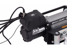 8000lb Winch with 5.2hp Series Wound Motor, Roller Fairlead Bulldog Winch - 10041