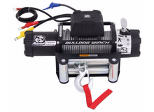 9500lb Winch with 5.5hp Series Wound Motor, Roller Fairlead Bulldog Winch - 10042