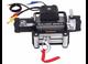 12000lb Winch with 6.0hp Series Wound Motor, Roller Fairlead Bulldog Winch - 10043