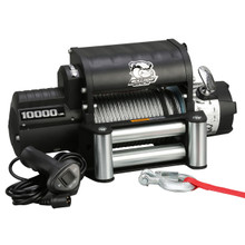 10000lb Winch with 5.8hp W/ Roller Fairlead Bulldog Winch - 10005