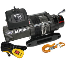 8288 Comp Winch w/Synthetic Rope Bulldog Winch- 10009