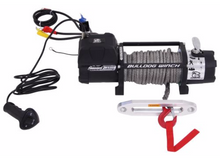 9500lb Winch w/5.5hp Series Wound, 100ft Synthetic Rope, Aluminum Frld Bulldog Winch - 10045