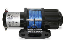 3500lb Utility Winch Synthetic Rope W/ Aluminum Hawse Fairlead Contactor  Bulldog Winch- 15013