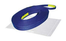 "Recovery Strap 4"" x 30ft, 40,000lb BS polyester  Bulldog Winch- 20031"