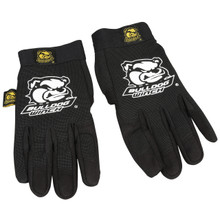 Trail Gloves, XL, Black Form Fit w/synthetic leather palm Bulldog Winch- 20070