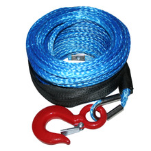 Synthetic Rope 8mm x 100ft, up to 8k Winch Bulldog Winch- 20082