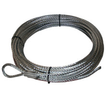 "Wire Rope, 15007 1/4"" x 50' (6.4mm x 15.2m) Bulldog Winch- 20107"