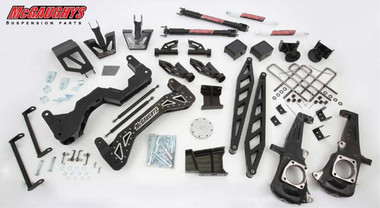 "2015-2019 GMC Sierra 2500HD 2wd Diesel 7"" Black SS Lift Kit - McGaughys 52355"