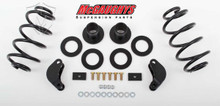 "2015-2019 Chevy Tahoe 2wd & 4wd 2/3"" Economy Lowering Kit W/ Front & Rear Auto Ride - McGaughys 34066"