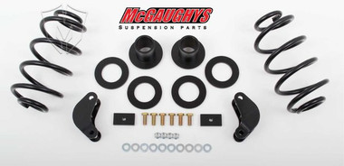 """2015-2020 Chevy Suburban 2wd & 4wd 2/3"""" Economy Lowering Kit W/ Front & Rear Auto Ride - McGaughys 34066"""