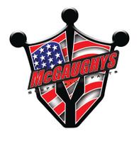 """2015-2016 Cadillac Escalade 4wd Non Auto Ride 7"""" Black SS Lift Kit - McGaughys 50808"""