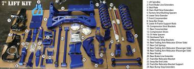 """2015-2020 GMC Yukon XL 4wd, Non Auto Ride 7"""" Lift Kit - McGaughys 50805 Kit Explained"""