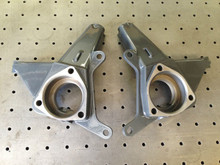 """2007-2014 GMC Sierra 1500 2wd Fabricated 3.5"""" Lift Spindles (Pair) - MZF-C1-2 (GMC)"""