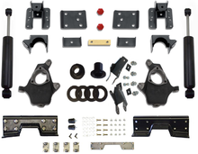 2007-2013 Chevy Silverado 1500 Extended Cab 2wd 5/7, 5/8 & 5/9 Deluxe Drop Kit - McGaughys 34057