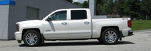2014-2017 Chevy Silverado 1500 2wd/4wd Double Cab 2/4 Economy Lowering Kit - 34110 Installed (Side)