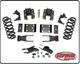 """2014-2018 Chevy Silverado 1500 2wd/4wd Standard Cab 2/4"""" or 2/5"""" Premium Drop Kit - PRS-34150"""