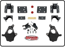 "2014-2016 Chevy Silverado 1500 2wd Double Cab 2/4"" or 2/5"" Premium Sprindle Drop Kit - 34140"