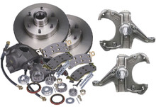 1960-1987 Chevy C10 Front Complete Disc Brake Kit - McGaughys