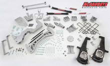 "2015-2016 GMC Sierra 3500HD 4wd DRW Diesel 7"" Lift Kit- McGaughys 52351 (Kit)"