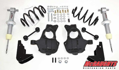 """2015-2020 Chevy Tahoe 2wd W/O Auto Ride 3/5"""" Deluxe Lowering Kit - McGaughys 34215"""