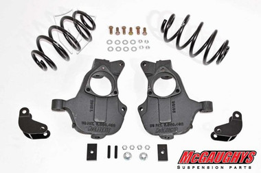 """2015-2020 Chevy Tahoe 2wd W/O Auto Ride 2/3"""" Deluxe Lowering Kit - McGaughys 34214"""