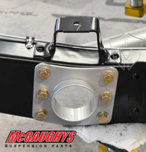 "1963-1987 Chevy & GMC C10 3"" Frame Rail Exhaust Passage - McGaughys 63125 (Inside Frame View)"