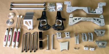 "McGaughys Chevrolet Silverado 2500HD Diesel 2wd 1999-2010 9"" Lift Kit W/Shocks - Part# 9-52000"