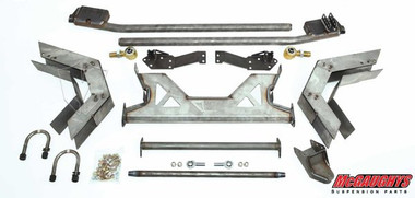 Upper Coil Over Mount For 1973-1987 Chevy & GMC C10 Rear Drop Coil Over Cross Member Complete Kit - McGaughys 63118