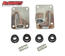 1963-1987 Chevy & GMC C10 LS Motor Mounts For Drop Cross Member ONLY - McGaughys 63132 Driver Side Installed