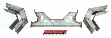 "1973-1987 Chevy & GMC C10 6"" Over Stock Weld-In Step Notch Kit - McGaughys 63128"