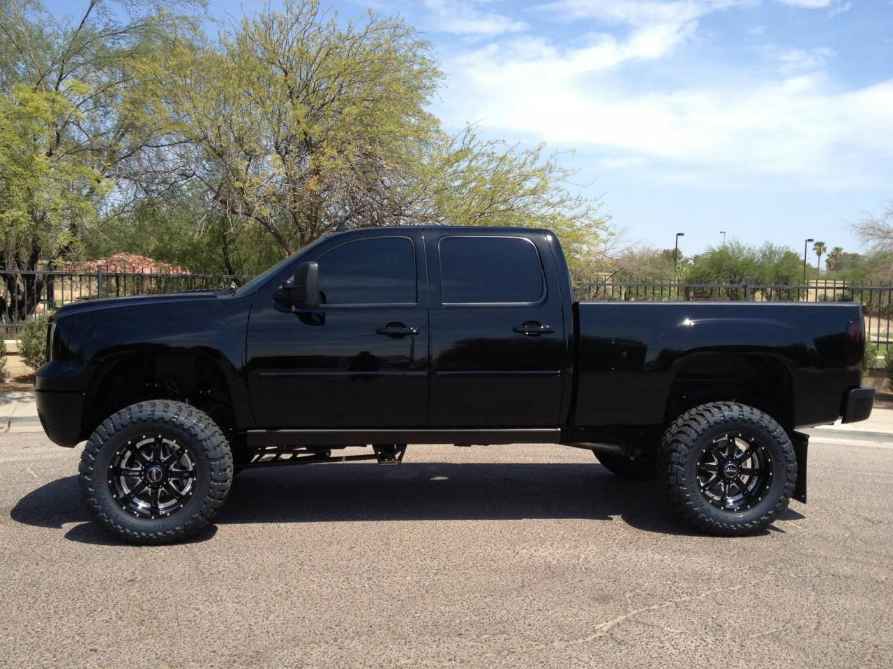 "2011-2013 Chevy Silverado 3500HD 2wd Diesel 7"" Black SS ..."