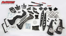 "2015-2016 Chevy Silverado 3500HD 4wd Diesel 7"" Black SS Lift Kit - McGaughys 52359"