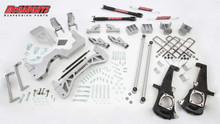 "2011-2014 Chevy Silverado 3500HD Dually 4wd 7"" Non Torsion Drop Lift Kit - McGaughys 52306"