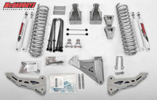 "2008-2010 Ford F250 4wd 6"" Phase I Lift Kit W/ Shocks - McGaughys 57241"