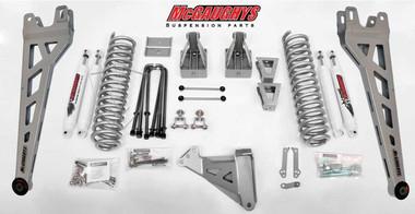 "2008-2010 Ford F250 4wd 6"" Phase II Lift Kit W/ Shocks - McGaughys 57242"