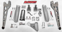 "2005-2007 Ford F350 4wd 6"" Phase II Lift Kit W/ Shocks - McGaughys 57332"