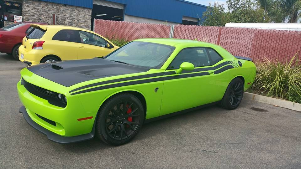 "2015-2016 Dodge Hellcat Challenger 1.4"" Front /1.6"" Rear ..."