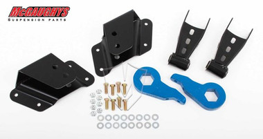 "2/4"" Chevy Silverado 4wd Lowering Kit Torsion Front End Ex/Quad"